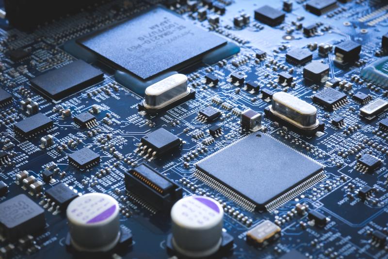 Electronic circuit board semiconductor